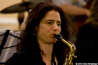 Jessica Lurie, saxophone player