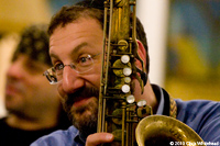 Greg Wall, Jazz Rabbi and saxophone player